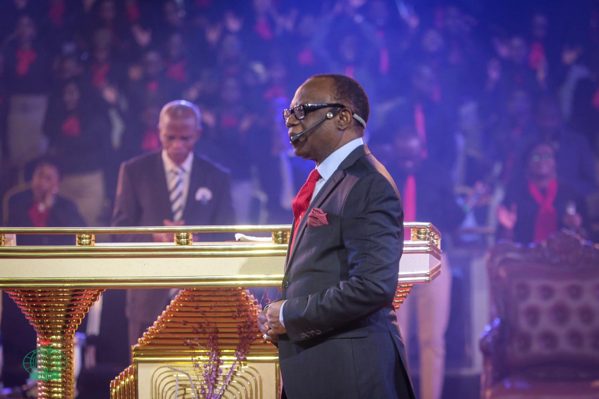 Rev. Felix Omobude speaking on fruitful season